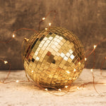 Gold Disco Bauble