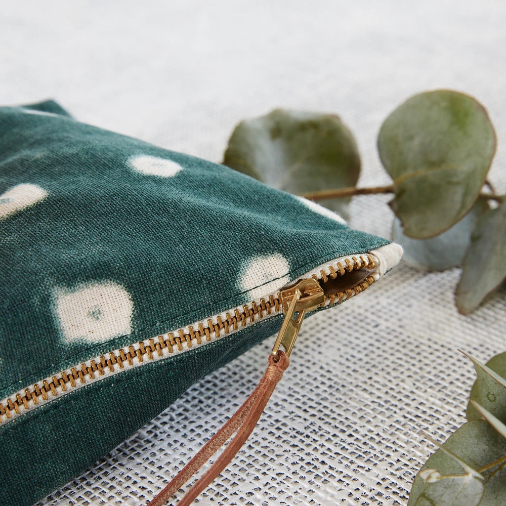 House Doctor Green Cosmetic Bag
