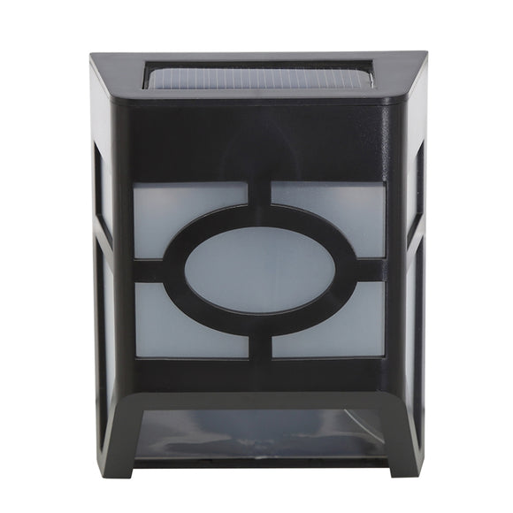 1PCS Polycrystalline silicon solar light-operated Super Bright Wall Mount Outdoor Garden Lamp