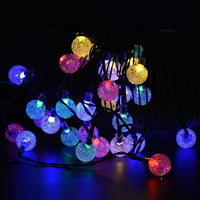 12M 100 LED Solar Panel Powered Fairy String Lights Lamp for Outdoor Garden Home Christmas Wedding Party Xmas Tree Decoration  (11)