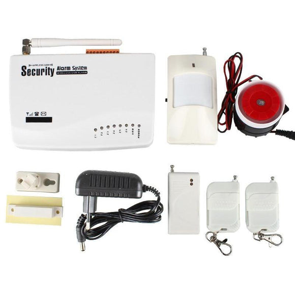 Gsm Auto Dial System Kit - Wireless Smart Security Alarm System