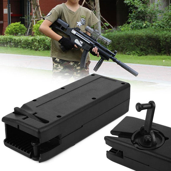 Outdoor Airsoft Paintball 1000 Rounds Plastic BB Speed Loader M4 Hand Crank Military Utility Quick Loader Hunting Gun Accessory