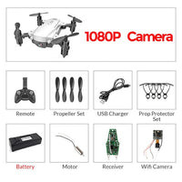 RC WiFi FPV Drones 4K Wide-angle Camera RC Helicopter 1080P HD Camera Quadcopter Aircraft Quadrocopter Aerial Video Toys For Kid