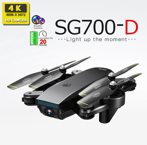 SG700-D drones with camera hd mini drone rc helicopter 4k dron toys quadcopter profissional drohne com camera quadrocopter SG700
