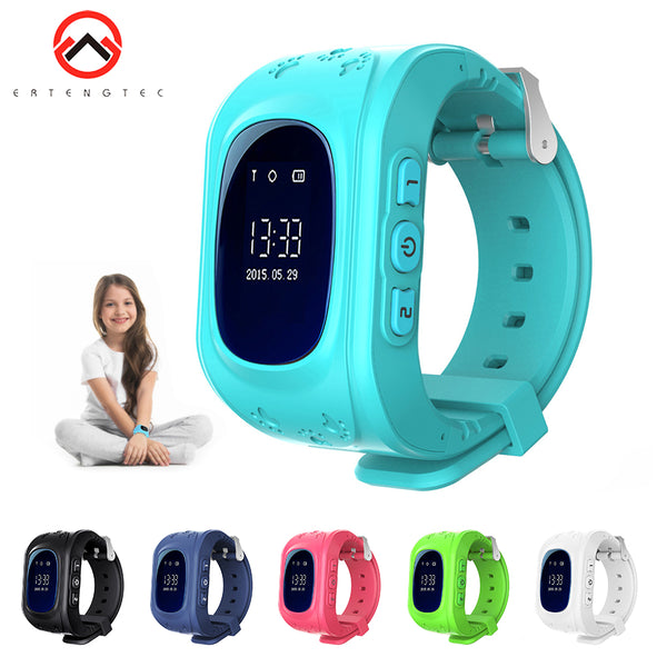Q50 Smart Watch Kids OLED Screen GPS WIFI Tracking SOS Alarm Anti-Lost Children Wristwatch Two way Talk IOS Android Kids Watch