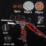 buyonlinesa - 2019 Laser Slingshot G5 Hunting Accessories Fishing Slingshot Shooting Catapult Bow Arrow Rest Bow Powerful Sling Shot Crossbow - Self defence