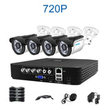 buyonlinesa - Smar CCTV 4CH 720P/1080P AHD Camera Kit P2P HDMI H. 264 DVR Video Surveillance System Waterproof Outdoor Security Camera Kit -