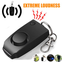 buyonlinesa - Self Defense Alarm 130dB Girl Women Security Protect Alert wolf Personal Safety Scream anti rape Loud Keychain Emergency Alarm - Self defence