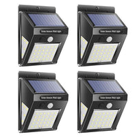 buyonlinesa - 1/2/4/pcs 30/40LED Solar PIR Motion Sensor Wall Lamp Waterproof Garden Security Light 3 Modes Outdoor Solar Light - Solar Products