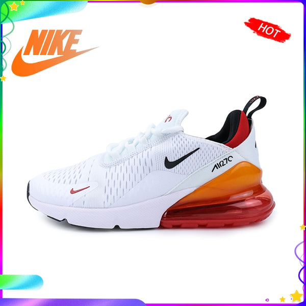 Authentic Original NIKE AIR MAX 270 Men's Running Shoes Trend Fashion Outdoor Sports Classic Breathable 2019 New BV2523-100