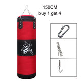 Training Fitness MMA Boxing Punching Bag with Hanger Empty Sport Kick Sandbag Muay Thai Boxer Gym Heavy Musculation Sandbag