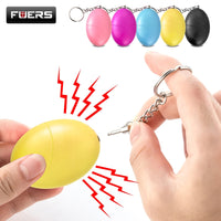 buyonlinesa - Fuers 1pcs 120DB Keychain Alarm Self Defense Women Security Personal Safety Scream Loud Self Defense Keychain Alarm Self Defence - Self defence