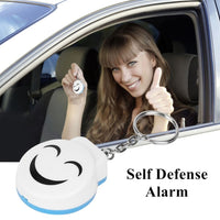 buyonlinesa - Self-defense Alarm Keychain 120dB Security Siren Personal Alarm Protection Individual Protection Means Self Defence - Self defence