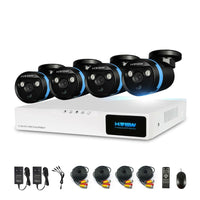 buyonlinesa - H.View 4ch CCTV Camera Security System Kit 4 1080P CCTV Camera Security System Kit 1080P Video Surveillance Kits Outdoor Kits - Home Defence