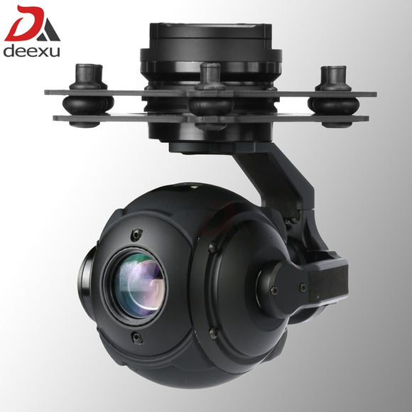 Lightweight 365g 3 axis UAV gimbal camera 10x zoom 1080P HD UAV Drone camera