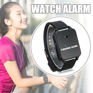 buyonlinesa - 120DB Self Security Protection Personal Alarm Watch Running Rescuer Outdoor Women Anti-wolf Kids Elder Anti-lost Device Alarm - Self defence