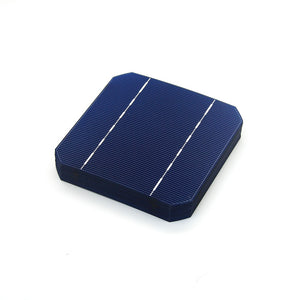 40 Pcs A Grade 2.8W 125MM Solar Battery Cell 5x5 Monocrystalline Silicon For DIY Home Solar Panel