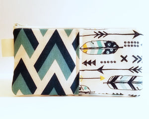 Macbook Sleeve - Laptop Case in Feather and Arrows - OhKoey