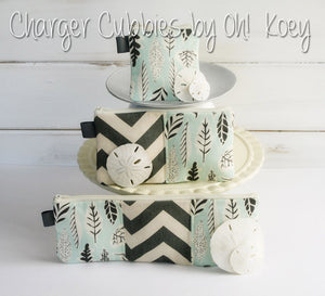 Charger Cord Organizer Travel Case • Zipper Pouch for Cords - OhKoey