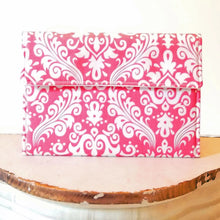 Load image into Gallery viewer, Kindle Cover - Custom Kindle Paperwhite Sleeve in Coral Pink Damask - OhKoey