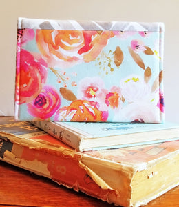 Kindle Case with watercolor flowers-Kindle Sleeve- Kindle Cover - OhKoey