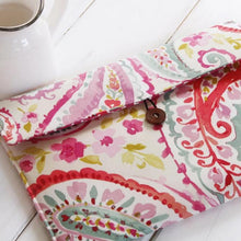 Load image into Gallery viewer, Paisley Flowers Kindle Paperwhite Sleeve - Kindle Case - Kindle Oasis Cover - OhKoey