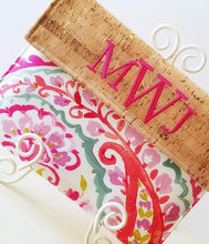 Load image into Gallery viewer, Pink Paisley Kindle Case - Personalized Kindle Sleeve - Padded Envelope Case - OhKoey