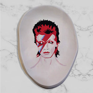 David Bowie Plate