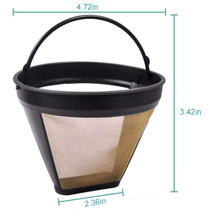 WFS Reusable Metal Coffee Filter 3 Packs