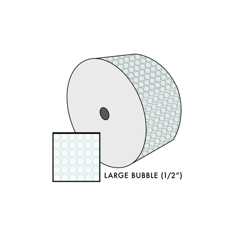 Large 1 Ft. Bubble 100 Feet