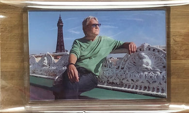 JOE LONGTHORNE MBE 'NORTH PIER BLACKPOOL' FRIDGE MAGNET