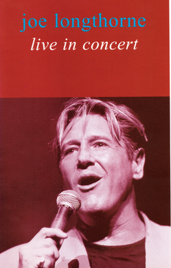 JOE LONGTHORNE MBE 'LIVE IN CONCERT' 1993 DVD
