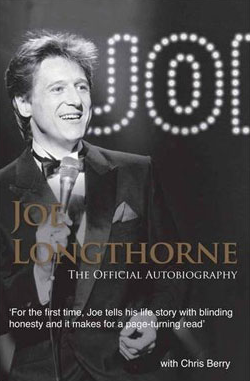 JOE LONGTHORNE THE OFFICIAL BIOGRAPHY 1ST EDITION HARDBACK BOOK