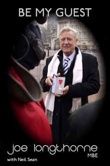 'BE MY GUEST'  JOE LONGTHORNE MBE DVD