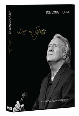 'LIVE IN SPAIN' JOE LONGTHORNE MBE  DVD