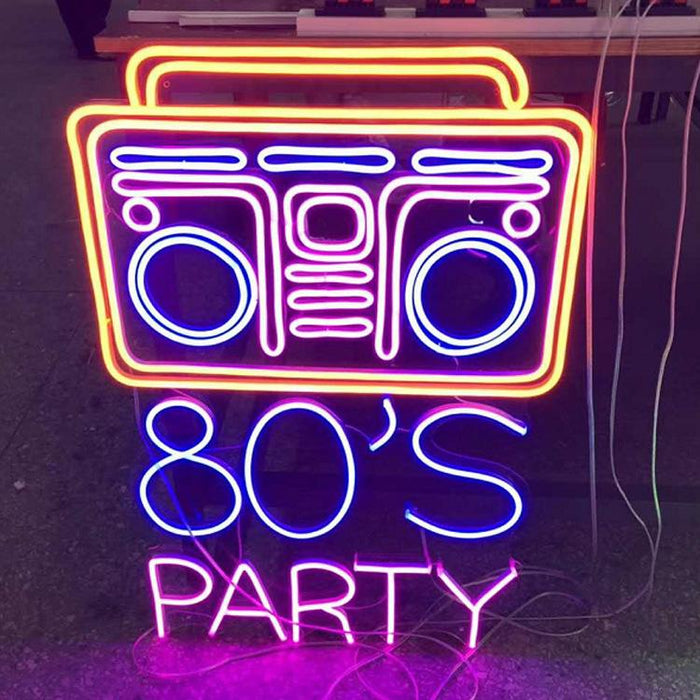 80'S Party Neon Bar Sign Led Light