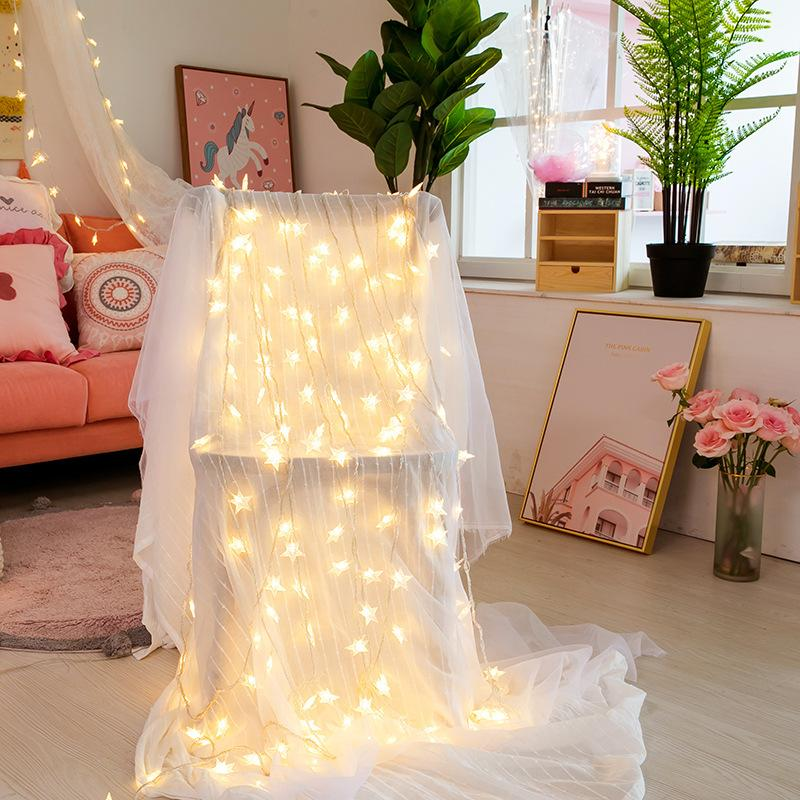 Fairy Indoor Bedroom Porch Gallery Plants String  String Bulbs Light