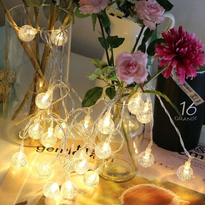 Fancy Fairy Indoor Bedroom Porch Gallery Plants String  String Bulbs Light
