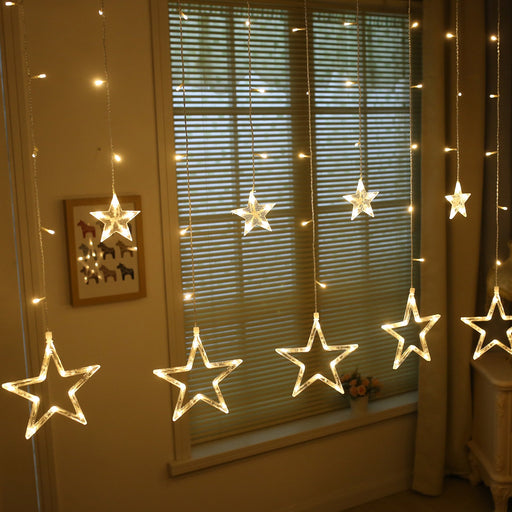 Fairy Star Twinkle Moon Love Colorful Dangling Curtain Dangling Light