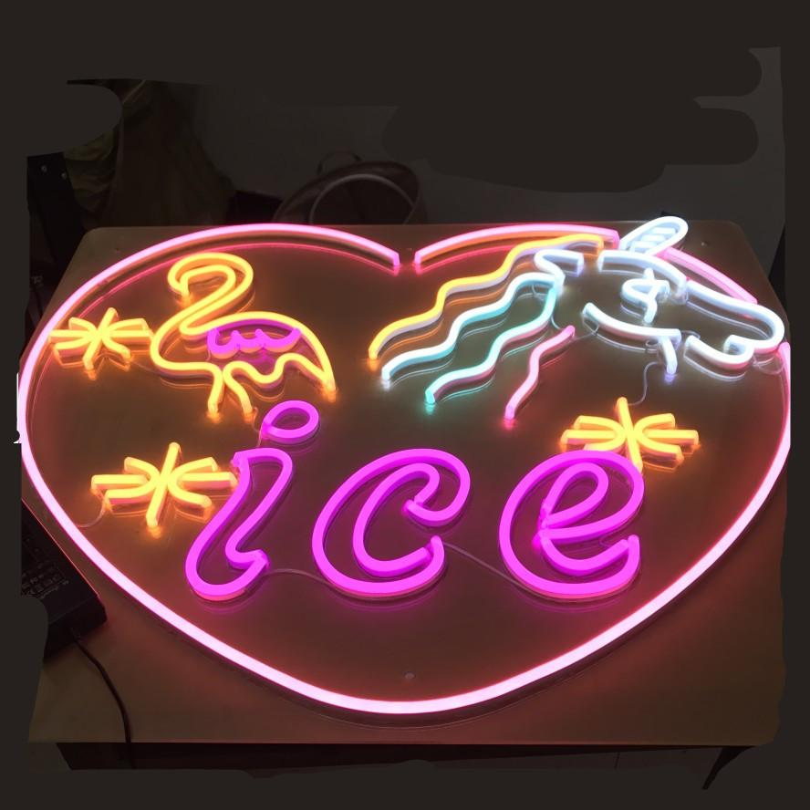 Neon Letter Sign