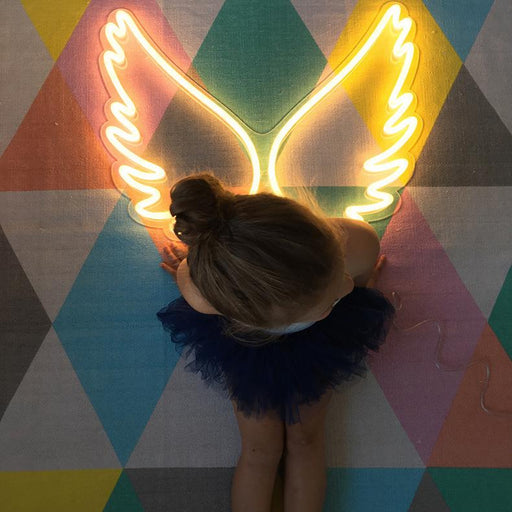 Neon Wings Sign LED Light