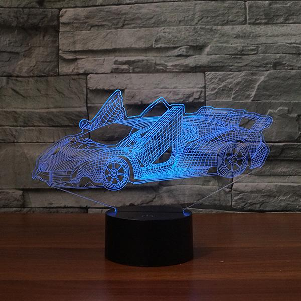 Car 3D night Lights