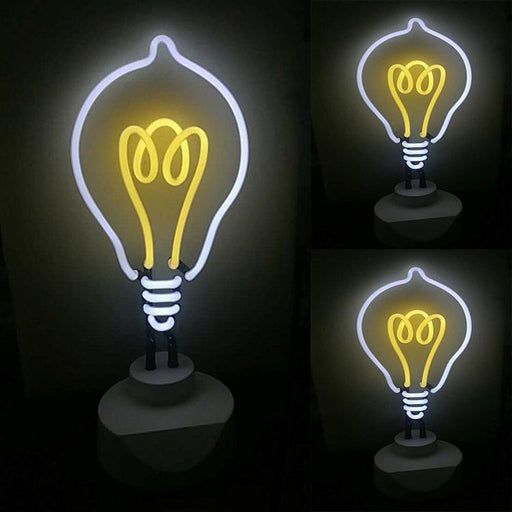 Customized Bedroom Art Neon Sign Bulbs Light