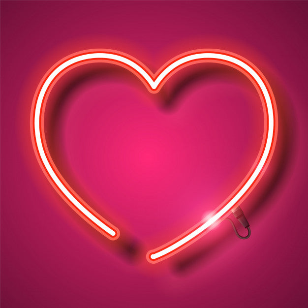 Heart neon Sign Lights