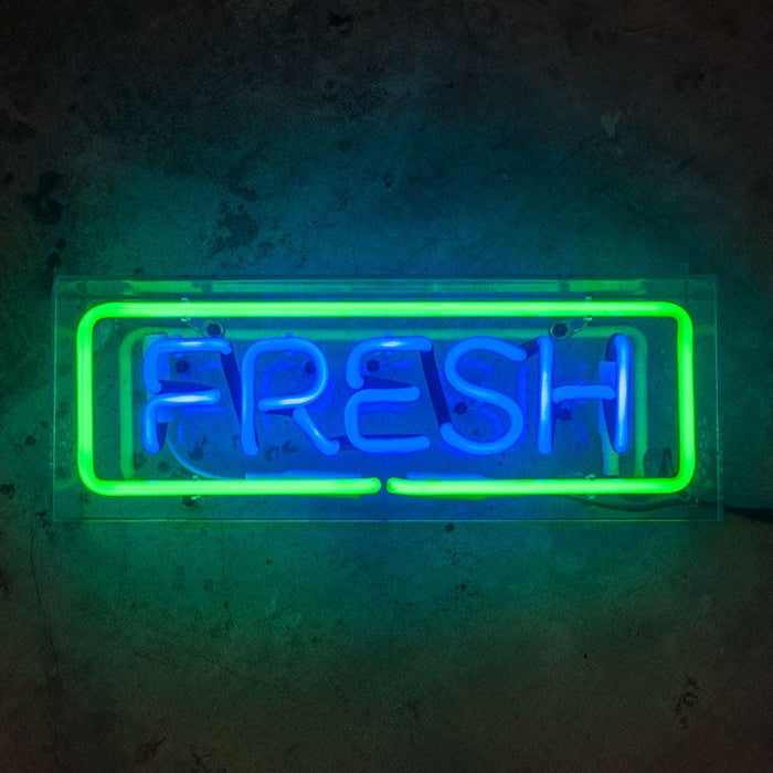 Neon Sign In Acrylic Box