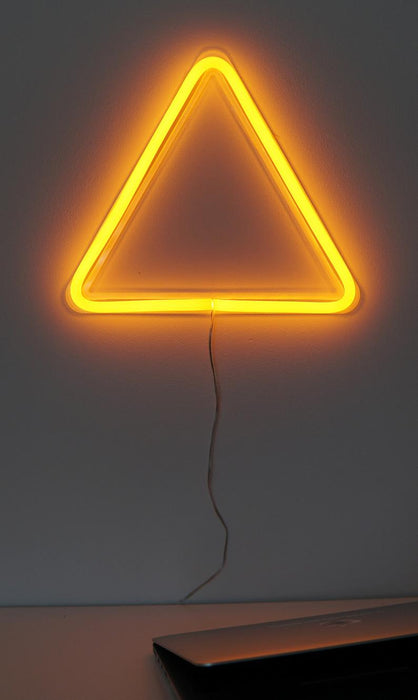 Triangle Led Neon Sign