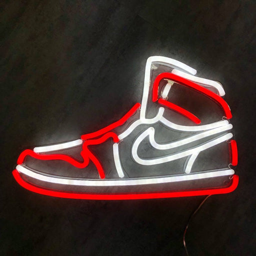 Air Jordan | Led Neon Sign, Michael Jordan Art, Air Jordan, Nike Air, Jordan, Neon Shoe, Shoes Sign, Shoe Decor, Sneakerhead