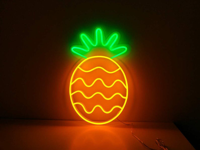 Pineapple - LED Neon Sign