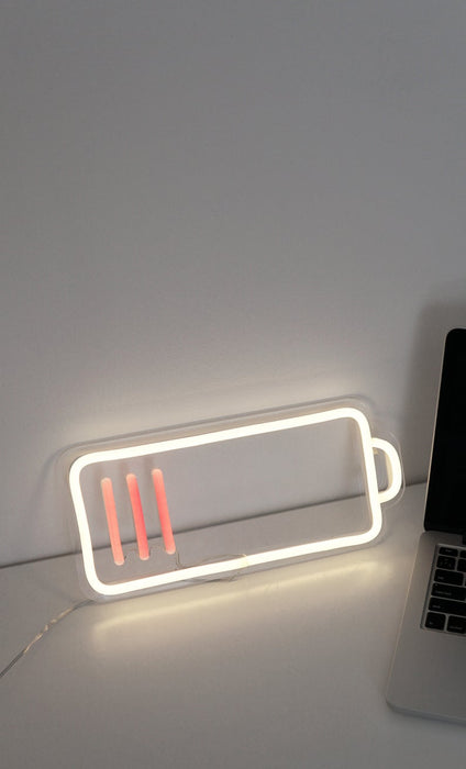 Low Battery Led Neon Sign