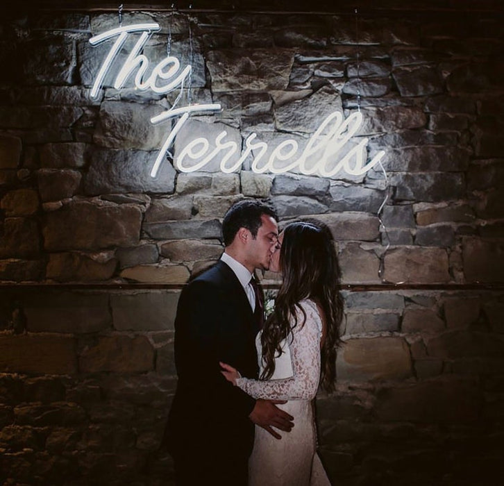Custom Wedding Neon Sign | Led Custom Neon Sign, Wedding Signs, Neon Wedding, Wedding Neon Signs, Neon Wedding Sign, Wedding Sign